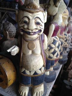 木彫りのおじさん